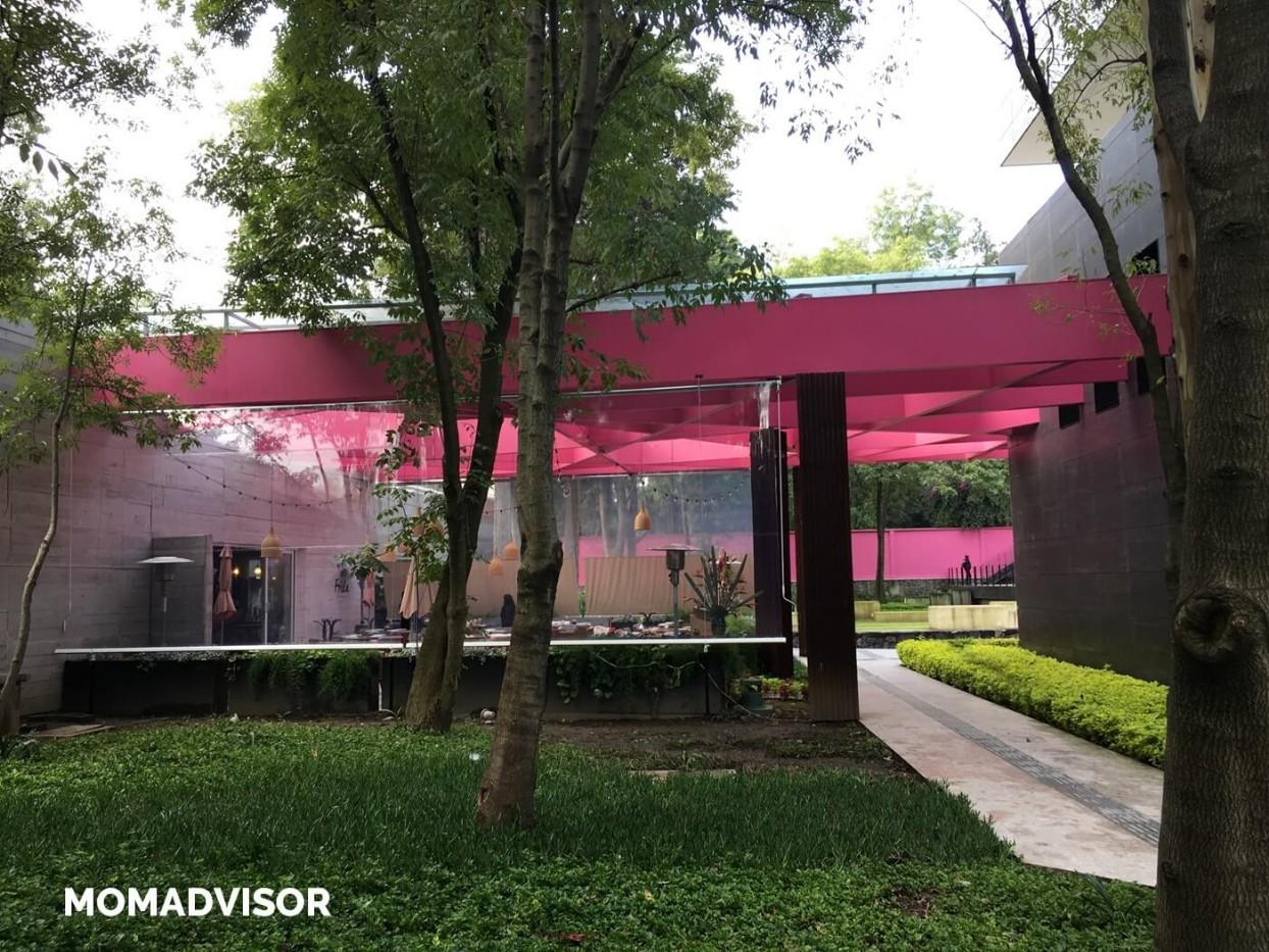Frida-restaurante-coyoacan-momadvisor-comer-con-niños-ninos-ludoteca-actividades-centro-artes-vivas-arquitectura-exterior