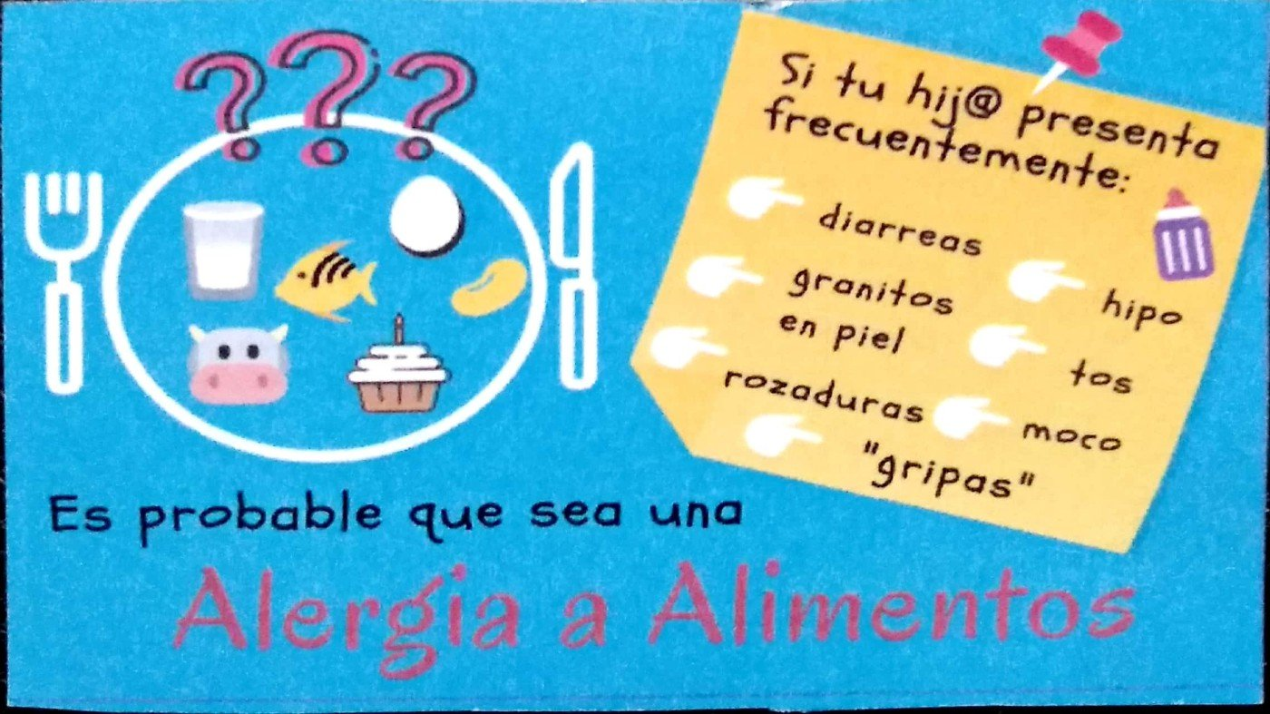 Alergia a la Leche h otros Alimentos. Programa ADAPTA
